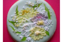 Decorated Cookies - Brush Embroidery