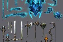 :) armor