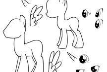 mlp drawing stufffff