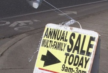 Garage Sale Tips / by Mary Hobbs