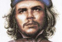 Schema punto croce Che Guevara