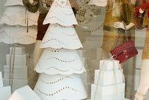 витрины новогодние