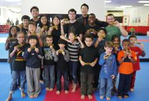Demo Team Overnight Camp! / M.Y. Taekwondo's 2014 demo team shows their commitment at our overnight camp!