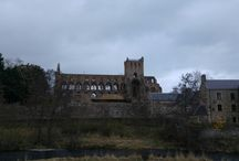 Atmospheric Abbeys / Capturing shots of abbeys we pass on our camper van travels