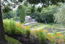 Gardens, Bridge and Pond
