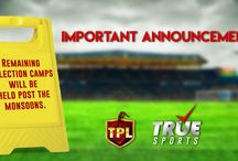 True Sports TV / True Sports TV is India's 1st cricket channel that showcases a Cricket Talent hunt & reality show, called TRUE PREMIER LEAGUE aka TPL. Along with the biggest celebrities & sports personalities, the search for the Cricket Superstar begins.