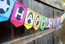 Crayon Rainbow Birthday
