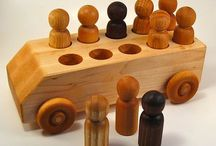Wood Toy Wheels / See what you can do with wood toy wheels! Some of these ideas may be surprising to you.