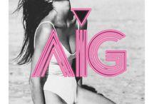 AIG brand / Fashion brand
