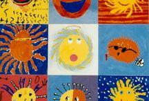 sun art ideas