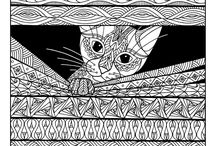 Pet Adult Coloring Pages