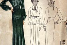 Vintage images / Dress patterns