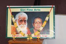 GIRI FINE ARTS 1st Anniversary celebration on 29th August 2014 /  Venue : Bharatiya Vidya Bhavan Minihall