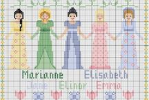 Cross stitch patterns copyright-free and free of charge / by Marah Cluff