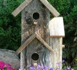 bird houses, FEEDERS AND BATHS