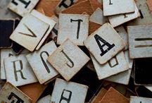 ♥ Letters ::: Prints ::: Words