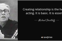 Acting Quotes / Best quotes about acting from actors, drama teachers, directors, writers and more.