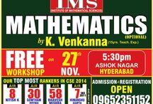 IAS Maths Coaching in Hyderabad / by Ims New Delhi
