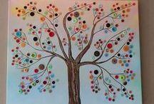 Kunst op schilderdoeken