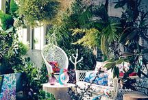 outdoor space / inspiration for those of us whose European palazzo doesn't have a backyard!