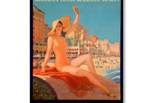 Atlantic City Posters / Vintage and modern Atlantic City posters and artwork