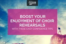 How to lead your choir with confidence by Total Choir Resources / Build your confidence, skills, stand tall and love leading your choir. Total Choir Resources shows you how to inspire your singers, yourself and feel great.