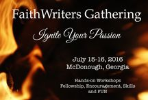Writing Conferences / Specifically for FaithWriters and Omega Christian Writers Conferences