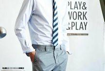 Stylish Men / Things I'd happily dress my boyfriend in. And celeb men I crush on from afar! / by Kelly Hogan