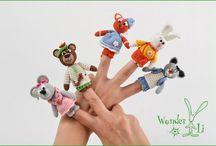 Fingers toys.