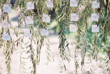 Botanical Wedding Styling / Green on green foliage used in abundance to create gorgeous textures for your wedding
