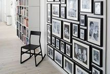 Design elements / Framing, wallpaper, doors