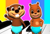 Baby Beavers / Kids will Have Fun Singing & Learning English with Baby Beavers.