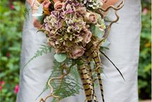 Feather wedding themes