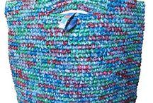 Plastic bags crochet!