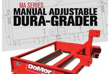 MA Series Dura-Grader / The MA Series Dura-Grader is the only adjustable blade grader for compact and utility tractors. Our patent pending technology gives you the ability to quickly change the blade angle to adapt to any job, making grading driveways, roads or parking lots a breeze.