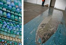 Transit & Public Space Mosaics / A map of custom Artaic Mosaics in Transit & Public Spaces