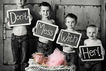 Photo Ideas for big/little kids