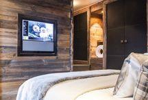 chalet moderne bed room