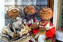 куклы из текстиля