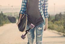 Skate style...