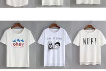 T-shirt tendance