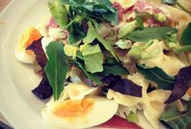 Salades / Zowel maaltijd als bijgerecht.