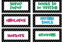 Classroom Labels / by Okie Teacher Tales