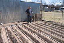 Garden care: irrigation etc