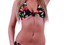 Halter top Bikinis / Beautiful halter top bikinis
