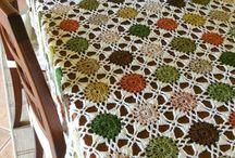 toalha de mesa de crochê