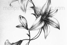 White Lily tats