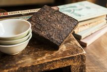 Unblended Brick Pu-erh Tea / Sweet & clear, perfectly-balanced, with a beautiful lingering after-taste, and crystal clear broth. Our quality benchmark.