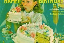 Happy Birthday!!! / Vintage Birthday Party Inspiration!
