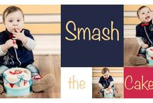Little Sailor Boy Smash Cake Photo Shoot / Cake, Cake Pops & Iced Cookies by Cupcake Columbia. Photography by Claudine van der Walt